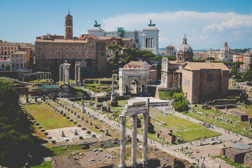 La villa del emperador Adriano